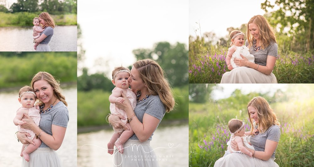 mother and daughter images, baby photographer Columbus Ohio, Columbus baby photography portraits, mother and baby portraits, sunset family images