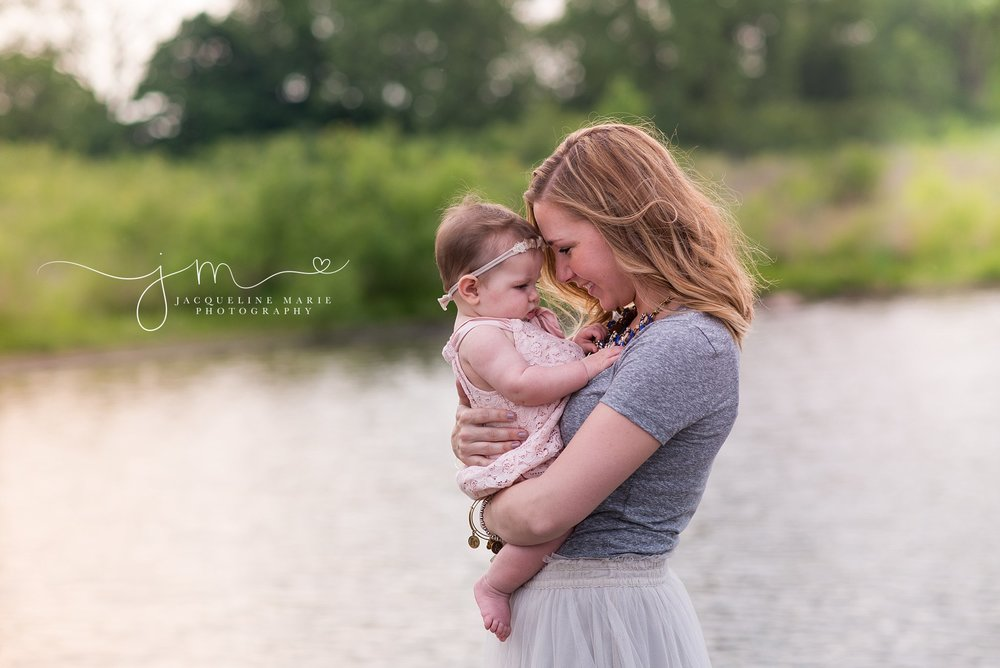mommy and me session, mother holding baby portraits, milestone poses, milestone portrait session, mother and child photographer Columbus