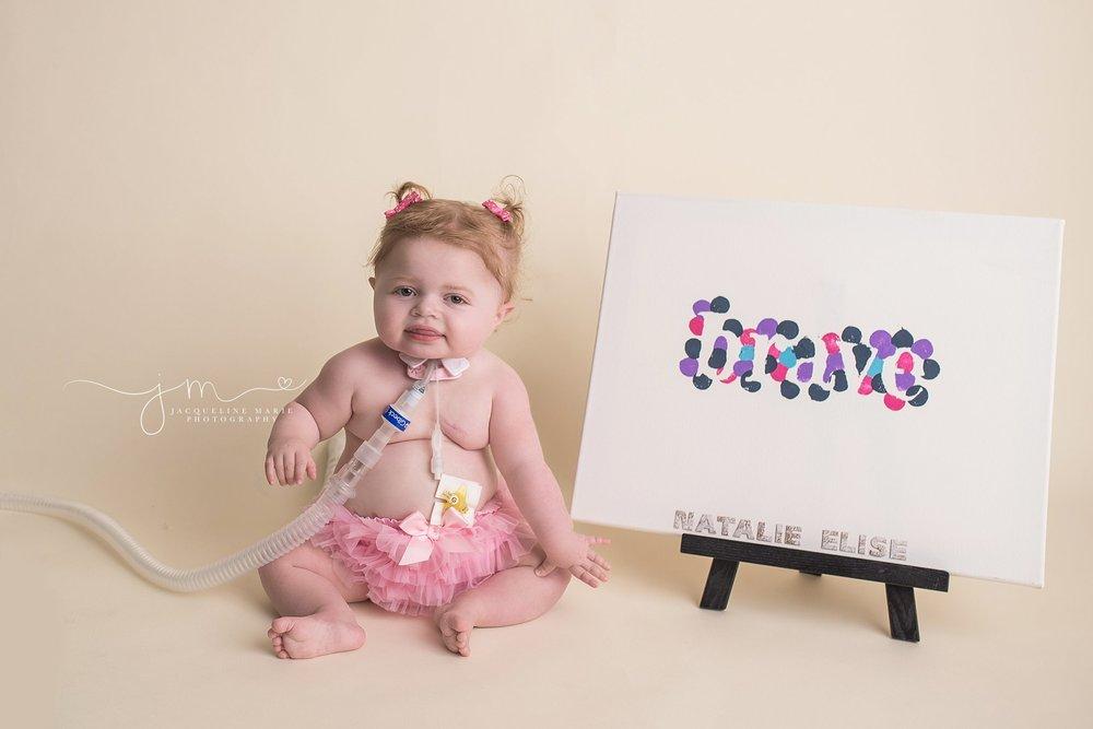 Shwachman Diamond syndrome, birthday portraits, child photographer Columbus