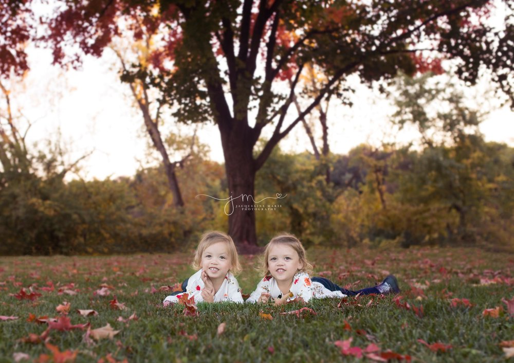 Columbus OH children photographer, children photography Columbus Ohio, twin photography, fall sibling photos