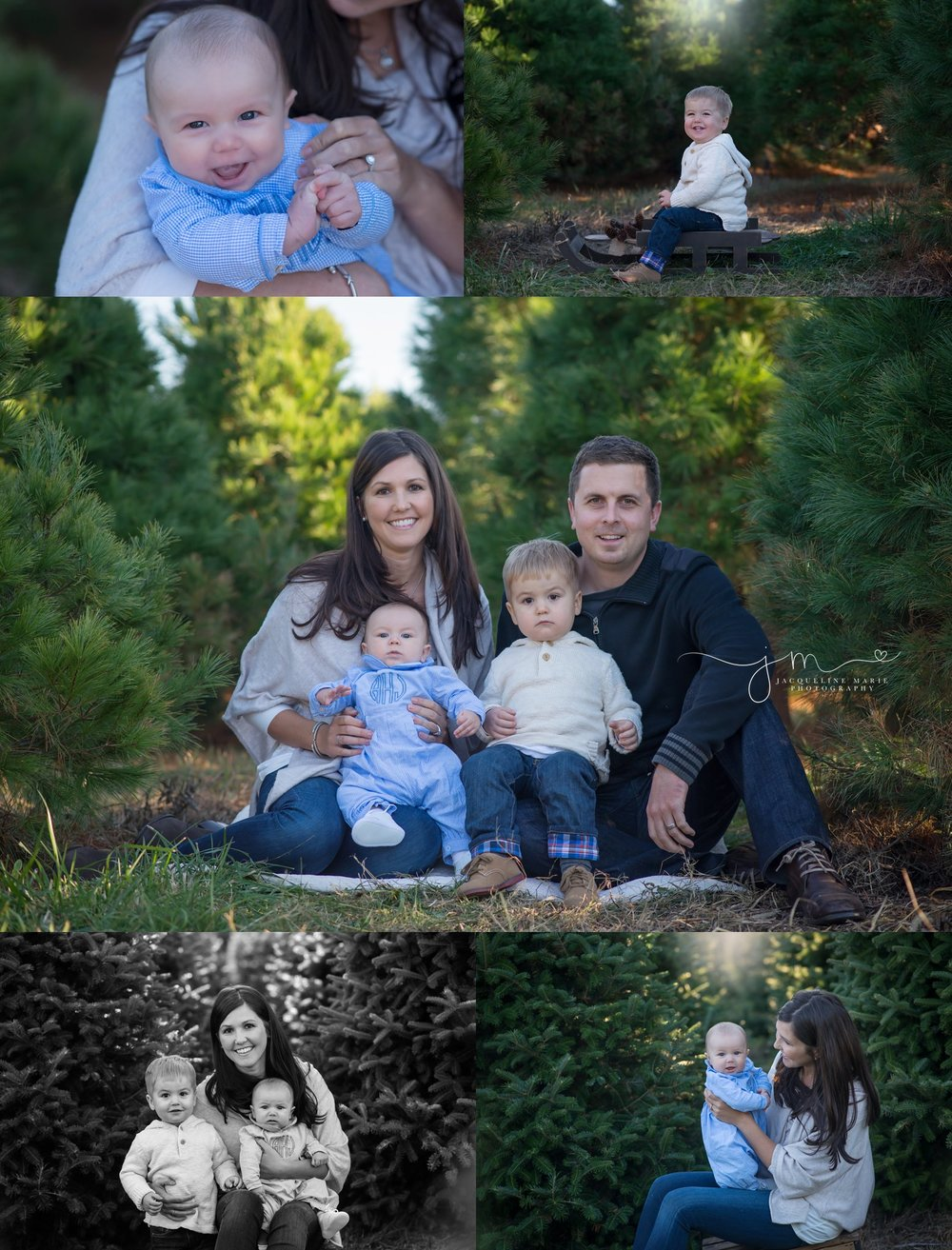 family photography Columbus Ohio, Columbus Ohio family photographer, Christmas tree farm photography