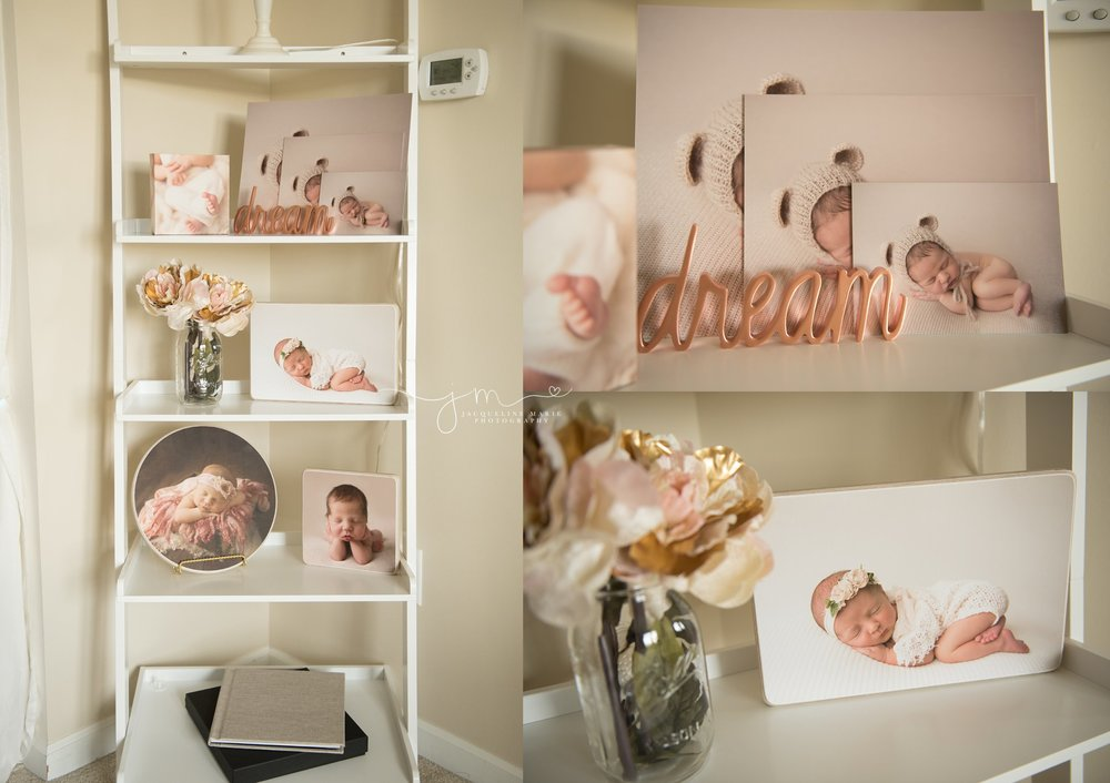columbus ohio newborn photographer offers prints, albums and premium wood blocks to clients
