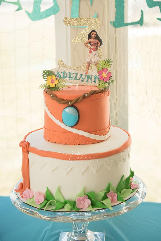 Moana Birthday Party | Moana Birthday Cake | Columbus Ohio Children Photographer