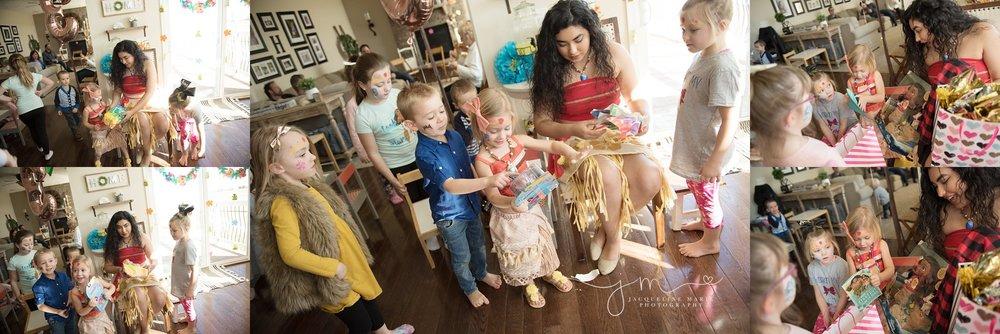 Moana Birthday Party | Columbus Ohio Children Photographer