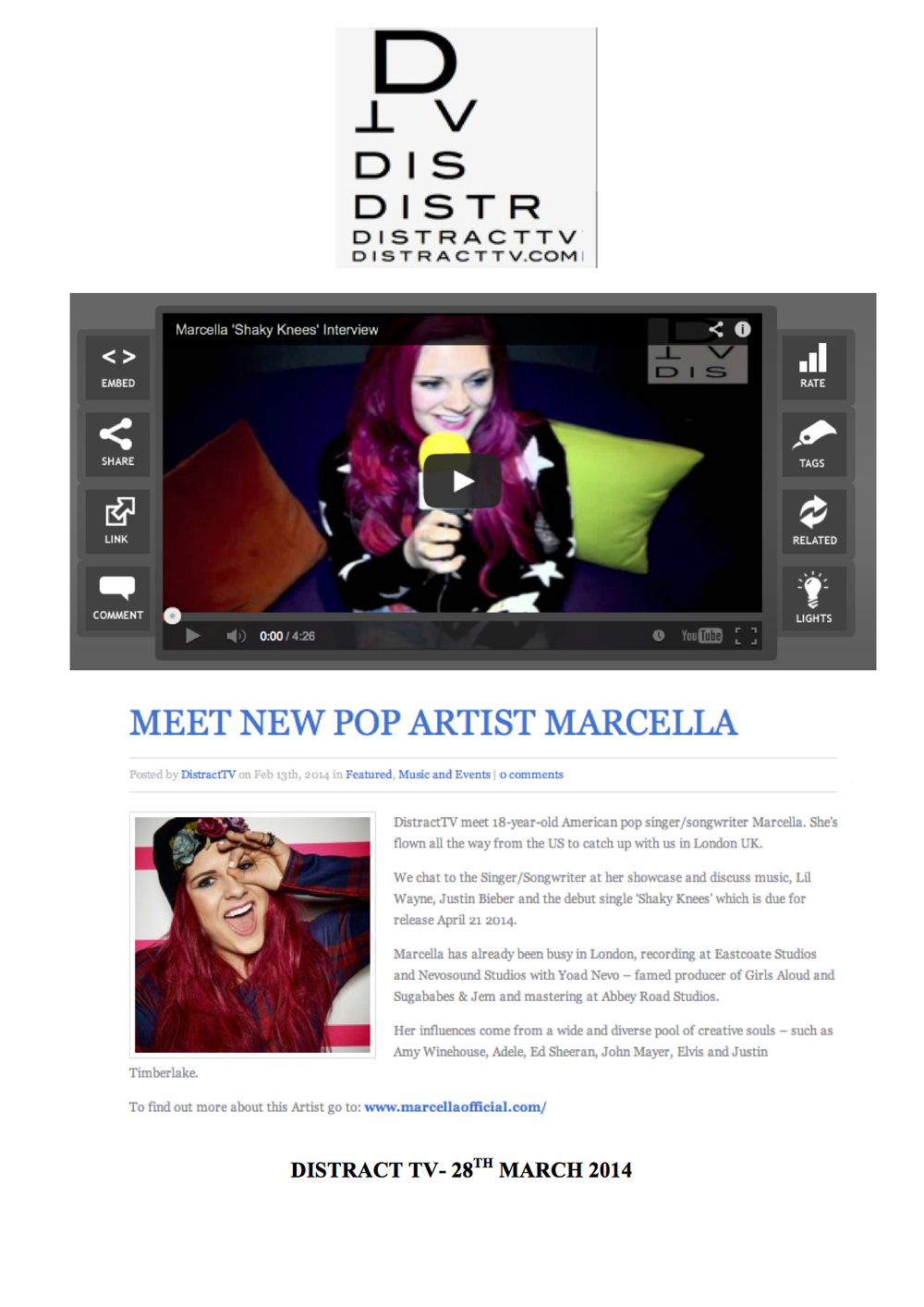 MARCELLA-DISTRACT TV-28TH MARCH 2014.jpg
