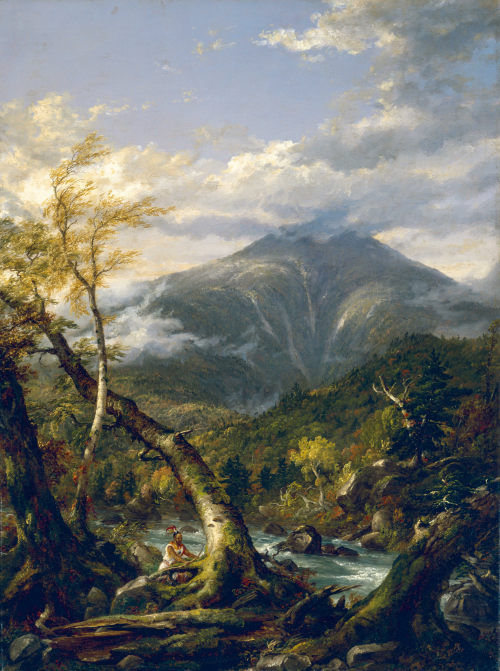 Thomas Cole,  Indian Pass  (1847).