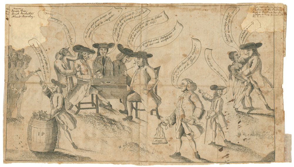 Franklin and the Quakers , Watson's Annals, 1764