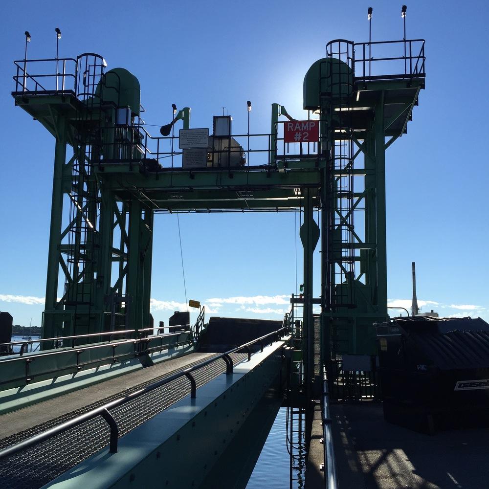 Maine State Ferry Docks