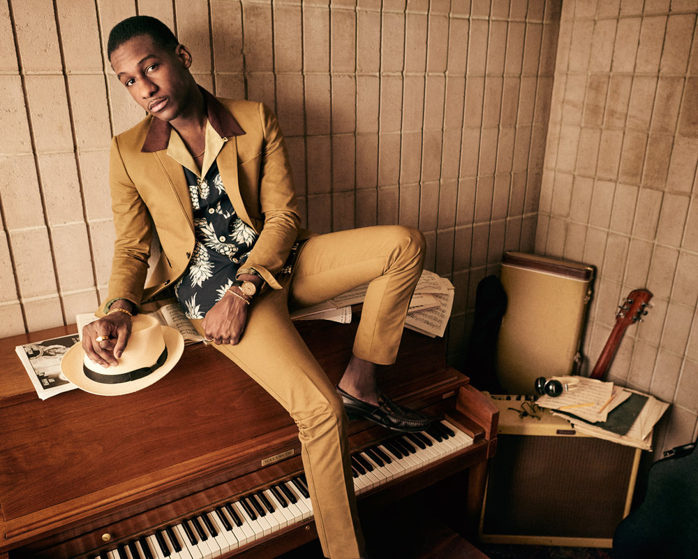 Leon Bridges for GQ