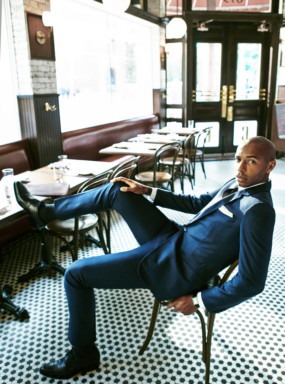 Thierry Henry for GQ