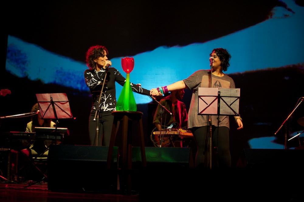 Tulipa e Zélia Duncan SESC Vila Mariana, São Paulo, 2010  Foto Clemente Gauer