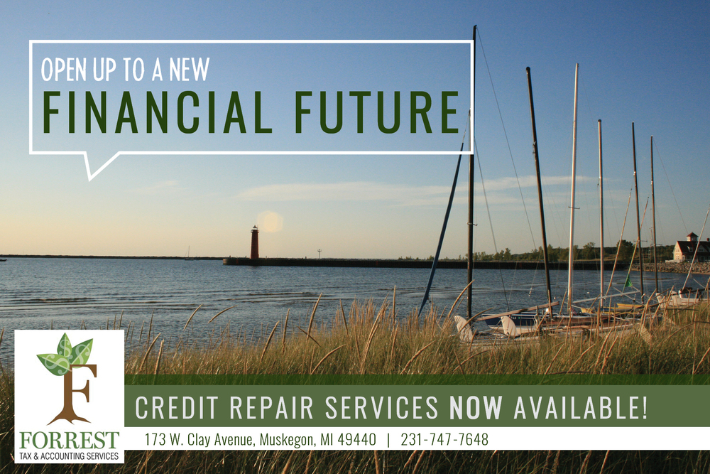 Credit Repair Postcard - Front