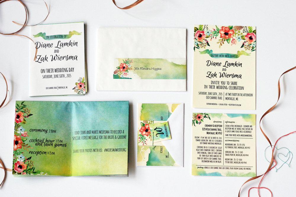 Wedding Invitation Suite & Program