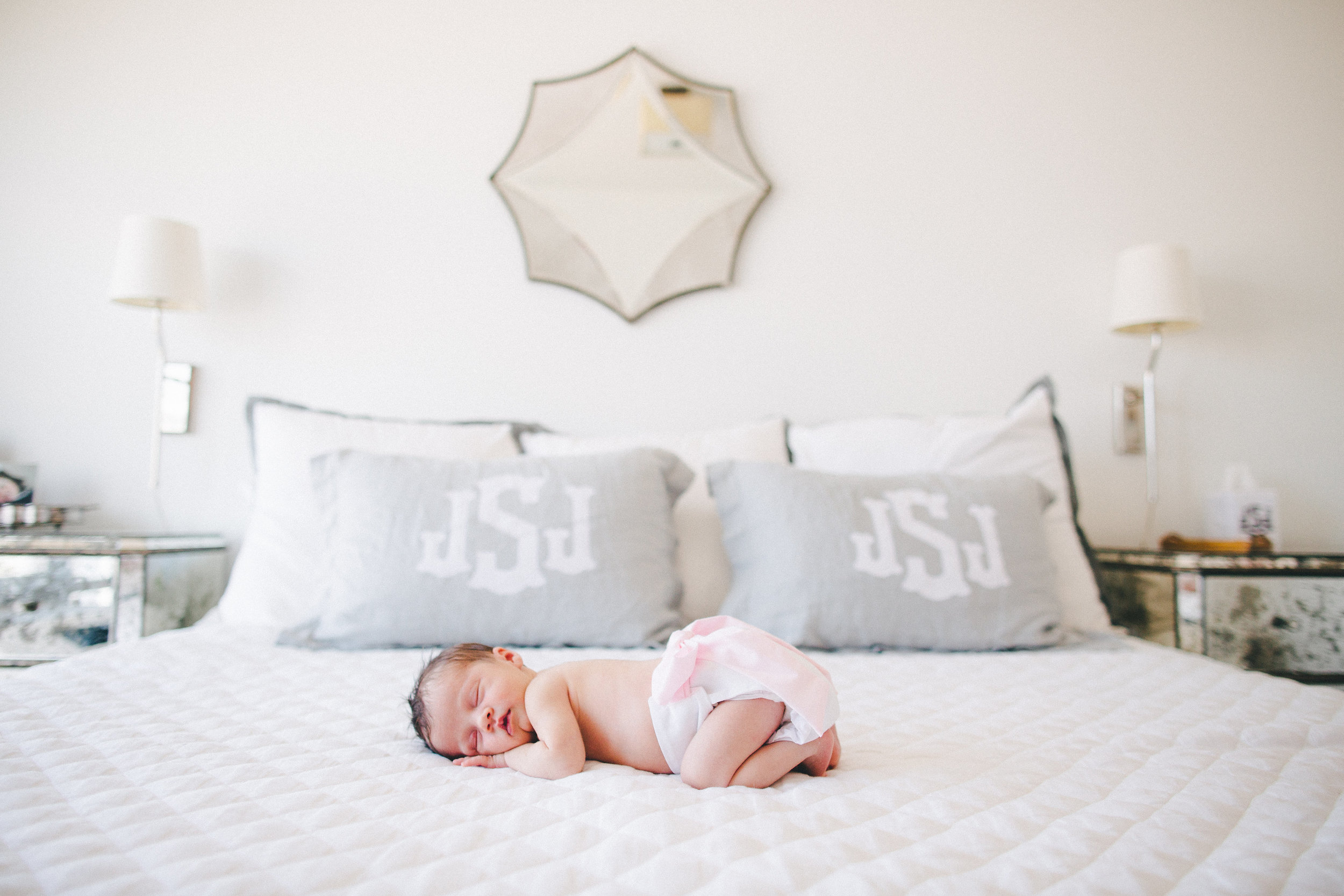 bright light brooklyn newborn photos
