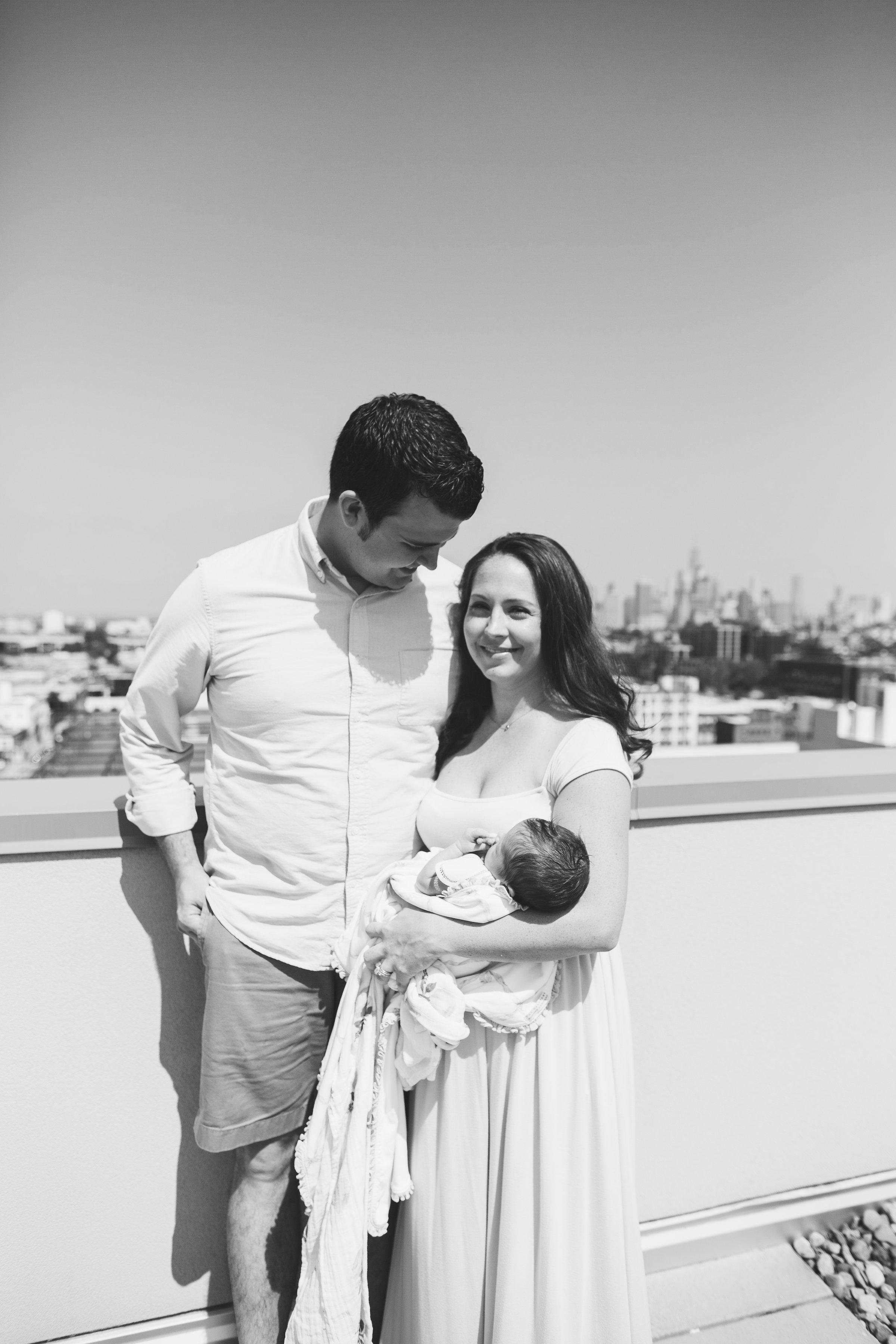 bright light brooklyn newborn photos