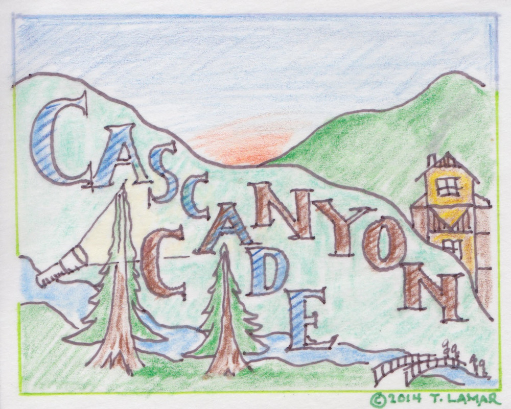 Cascade Canyon - Mill Valley