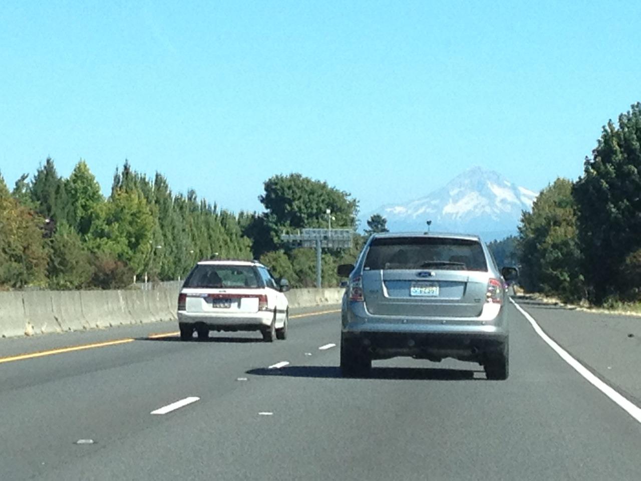 Hello Mount Hood.