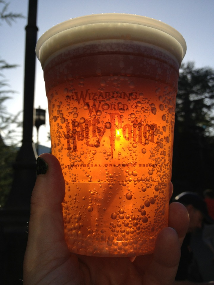 Butterbeer. It's AMAZING!