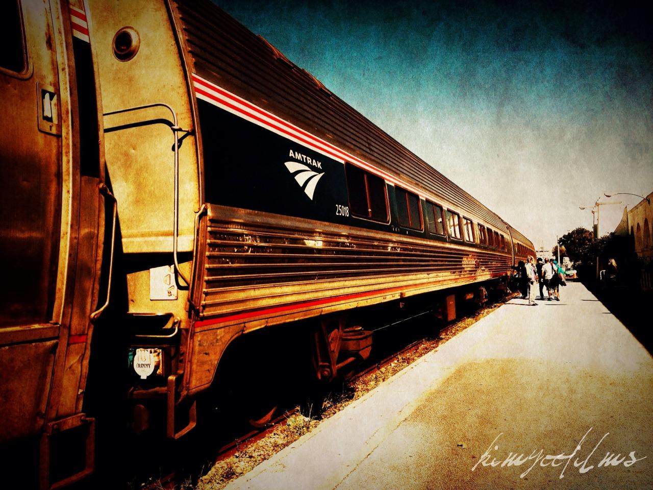 De train! De train!