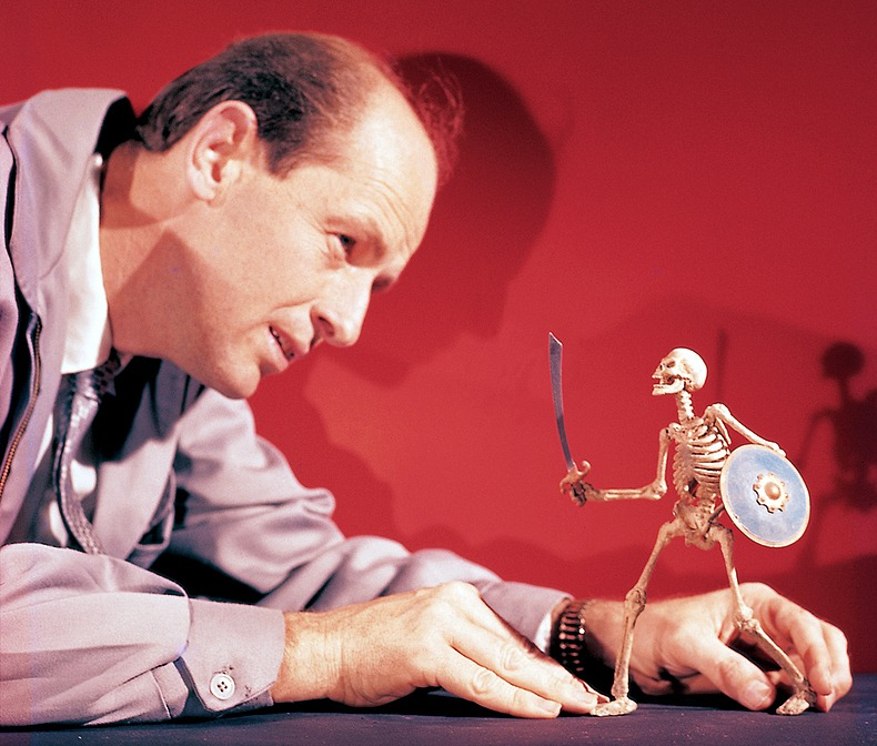 birthmoviesdeath :     RIP legendary animator and visual effects creator  Ray Harryhausen . Watch this moving tribute video from author Ray Bradbury for Harryhausen's 90th birthday celebration at BFI in 2010  right here .