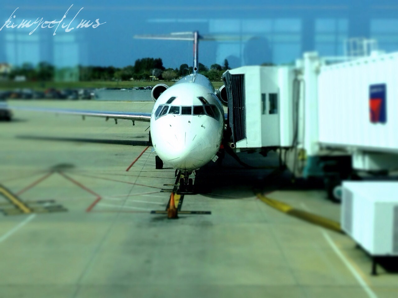 I like taking photos of the planes I board. It's like I'm stealing their souls.