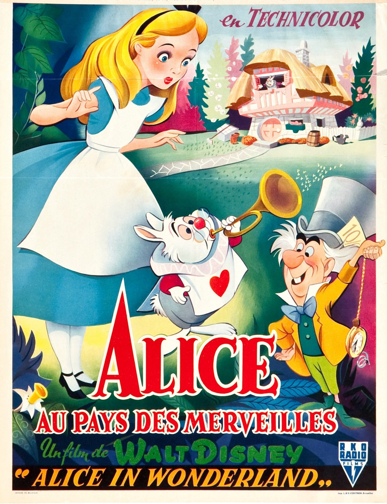 fuckyeahmovieposters: Alice in Wonderland