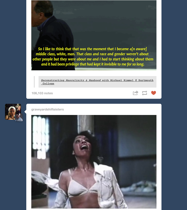Oh Tumblr synchronicity, how I love thee…   (Also…you should be following  graveyardshiftsisters …just sayin'.)