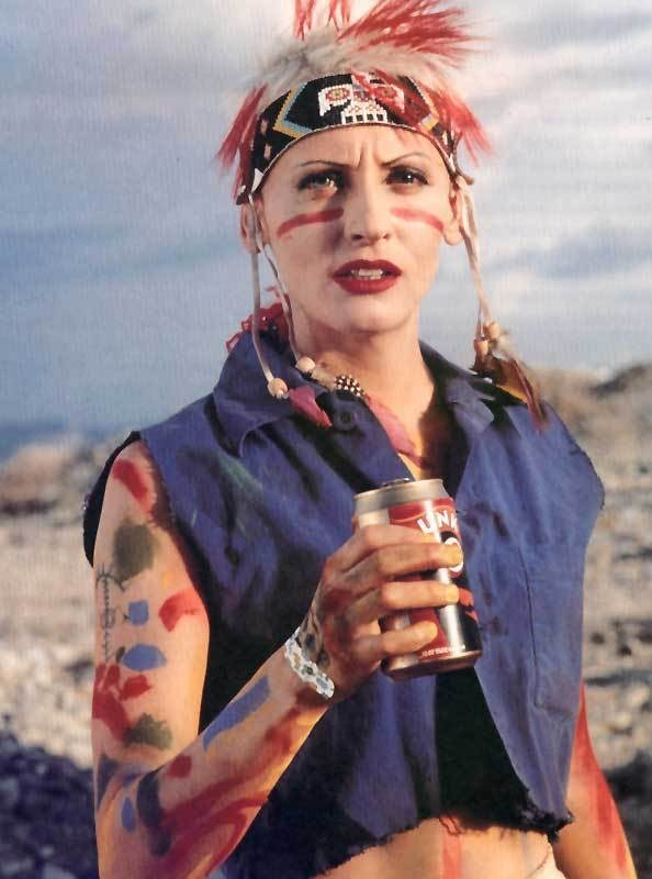 likemars :     Before The Bride, before Lara Croft, before Buffy, there was Tank Girl.   She didn't wear high heels, or do kung fu. She dressed like a punk, drove a tank (hence the name), mocked the size of bad guys' junk, and kicked ass.   And to prove women can be action stars, Lori Petty actually did most of her own stunts.     TANK GIRL is coming to BluRay in November!! *squee*