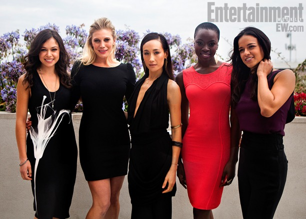 "kateelliottsff :      racebending :     For the first time ever, this year's  Women Who Kick Ass  panel at ComicCon was held in the convention's largest venue, Hall H.   Entertainment Weekly covers the panel here  and it sounds incredible.    A full transcript of the panel is here.    Unfortunately, the audience's response to this panel was sexist and predictable.     A panel called ""Women Who Kick Ass"" follows  Hunger Games . It's in its fourth iteration, and the fact that it's in Hall H on Saturday is a surprise. On the surface, it makes sense for this to follow  Hunger Games , and it's also likely the Con intended it to be something that would allow for the room to clear out a bit while shuffling in more people from the line that still snakes off across the street outside. But, all the same, there's something gutsy about placing a frank discussion of Hollywood sexism, feminism, and the limited opportunities for women in the entertainment industry right before 20th Century Fox and Marvel come out to present superhero-heavy slates.   And ""Women Who Kick Ass"" is the most fascinating and enriching panel I attend at Comic-Con. In particular, its discussion of how sexism still rules far too often in Hollywood is terrific, with panelist Katee Sackhoff (of  Battlestar Galactica  fame) discussing a time an unnamed male actor pulled her arms out of their sockets while filming a fight sequence, in what she believes was recourse for her questioning him earlier in the shoot; and fellow panelist Tatiana Maslany of  Orphan Black  discussing how a male crew member inappropriately hit on her when she was just 18 and bound to a bed for a shot. The moderator is good, in that she knows to get out of the way when the women on the panel — particularly Michelle Rodriguez — cut loose, and the content is engaging throughout.   For the most part, the dudes I'm sitting near either pay respectful attention or check Twitter, though there are some jokes from an older guy in front of me about how stupid he finds all of this. Then Rodriguez uses the phrase ""destructive male culture"" — as part of a larger answer about how women need to take more agency in telling their own stories — and something in the crowd  flips . A certain subset of the audience begins to get more and more vocal, and when the panel runs slightly over, as all panels have done during the day, the vocalizations begin to get easier to hear, even to someone sitting clear across a giant room in a place that tends to eat sound from specific individuals in the audience; one really has to make a ruckus to be heard.   The final question — from a young woman about what aspects the perfect kick-ass woman would have — turns into a digression about the many roles that women play in real life and the few that they are asked to play onscreen. It's all fascinating stuff, with Sackhoff talking about wanting to see someone as kind and strong as her mother onscreen, and  Walking Dead 's Danai Gurira talking about the effectiveness of female political protestors in her native Zimbabwe, the sort of story that would almost never appear in a Hollywood film — but the longer it goes on, the more restless the crowd gets. When Rodriguez grabs the microphone again to follow up on a point made by another panelist, for the first time, the audience ripples with something close to jeering anger. When the panel finally ends and the five women on it proceed off to the side for photographs, something done at the end of most Hall H panels, someone shouts something from the audience, to a mixture of supportive laughs and horrified gasps, and the women quickly leave the stage. (I was not sitting close enough to hear what was said, but I confirmed with several people sitting in the immediate vicinity that  it was a young man shouting ""Women who talk too much!""  after the loudspeaker asked attendees to voice their appreciation for the participants in the ""Women Who Kick Ass"" panel.)   It's an ugly moment, an unfortunate capper to a great session, to be followed by  many of the guys sitting around me offering up tired lines like ""I hope they feel empowered now!""  and several recitations of the  Twilight  mantra about ruining the Con. To be sure, most people in the room were respectful. But at a certain point,  there needs to be an accounting for the fact that there is an ugliness that burbles beneath the surface of too many Comic-Con events, sometimes intentional and sometimes unintentional. That's not a task for the Con itself. It's a task for nerd culture , and one that will require an earnest attempt to understand why this sort of ugliness rises up so often around women, lest all the nerd culture stereotypes prove unfortunately true.    -Todd VanDerWerff ""A Day Inside ComicCon's Hall H""        Nothing to say except to signal boost.     No..of course we don't need feminism…that's crazy talk. Men (and a few women, granted) need to grow up. Feminism isn't about being better than men, it's about being treated like human beings. When everyone is treated fairly and equally, everyone benefits."