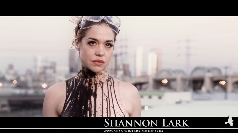 shannonlark :     This is a color test from the upcoming short film I am Monster that Shannon is not only starring in, but is also co-producing, co-writing, and co-directing with Lori Bowen.   Cinematography by Jim Kunz.    www.shannonlarkonline.com      Check out this screencap from the film I'm directing with Shannon Lark! It's a colour test, but it looks so amazing!