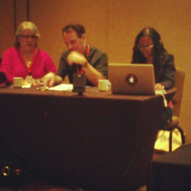 academicwannabe :     Fuzzy but bold during my presentation. #Albuquerque #SouthWestPCA     Yeeeeees! You're awesome, lady!!!