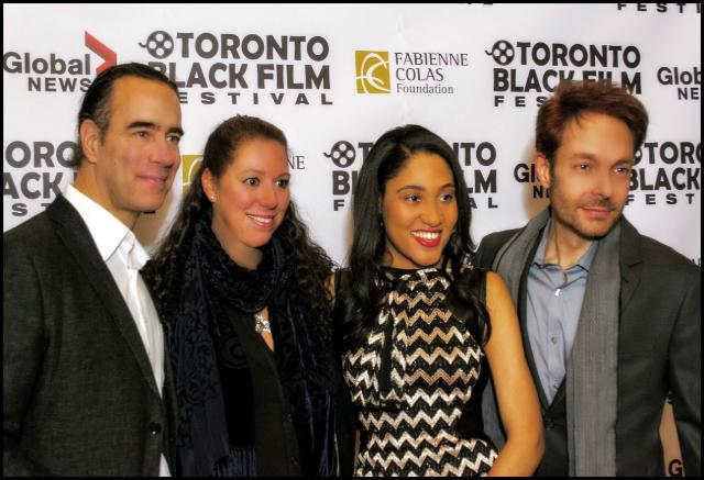 Emile Castonguay, Hilary Saltzman, Joyce Fuerza & David Giammarco