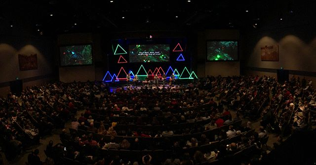 Loved leading today. Christmas Eve at Fellowship is always a favorite.