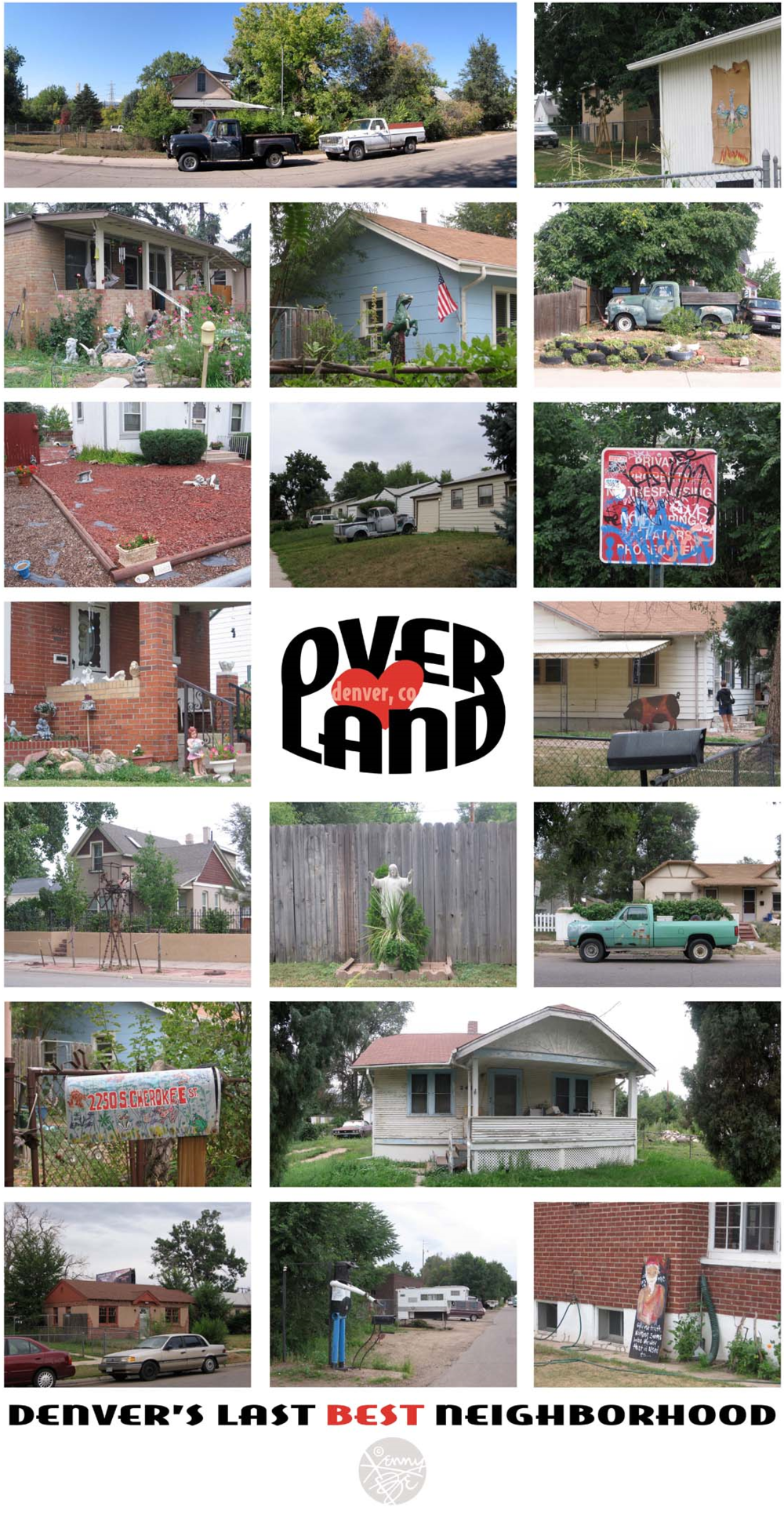 A photographic tour of the Overland neighborhood – Denver, Colorado