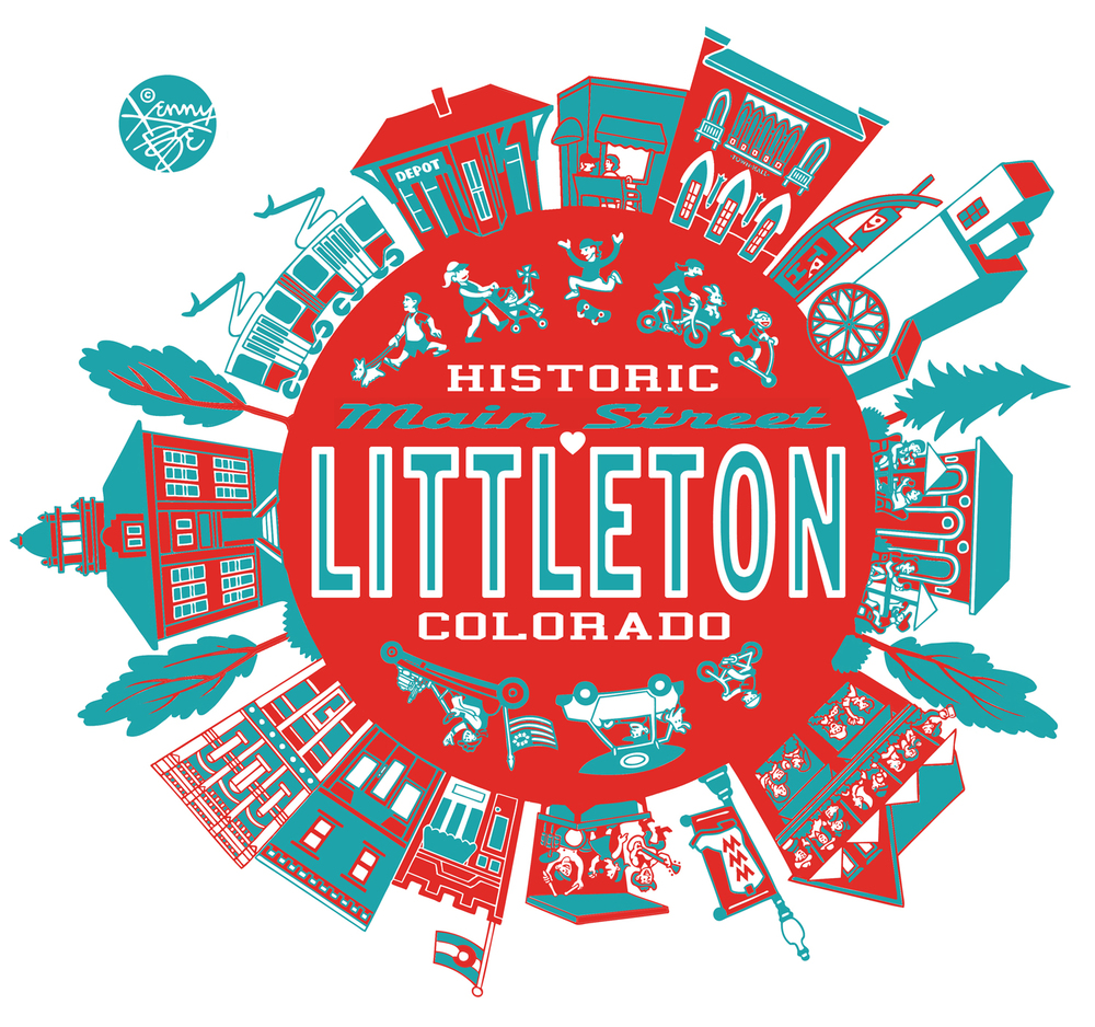 Littleton Colorado: Main Street Littleton