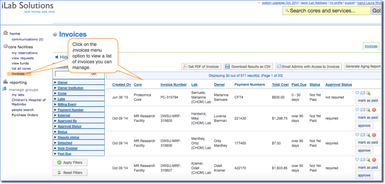 figure 1 access available invoices - What Does An Invoice Look Like
