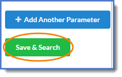 Figure 8: Save and run your search query.
