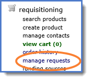Figure 1: Manage Requests