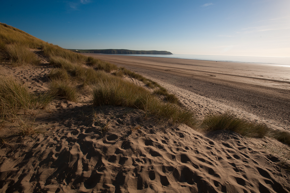 The dunes are a great place to get away from the crowds.