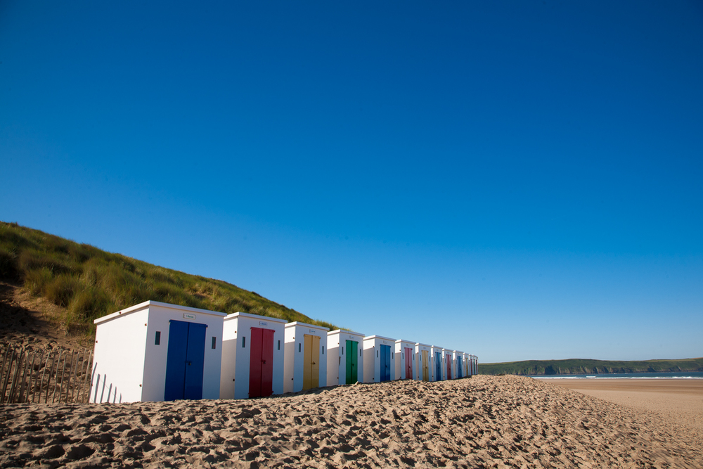 Voted by TripAdvisor as one of the top beaches in the UK, Woolacombe is a stunning place to while away your weekend.