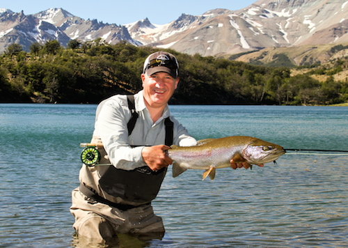 COYHAIQUE RIVER LODGE: In luxury lodgings, anglers are surrounded by innumerable world class rivers & lakes