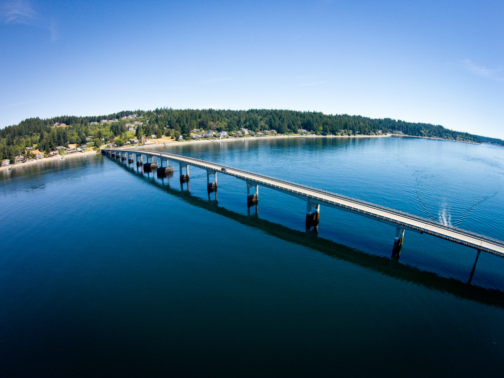 South Puget Sound......the bridge to Fox Island