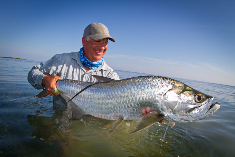 I thought the Tarpon fishing was excellent. My expectations were much lower given the time of year, but I caught Tarpon every day.