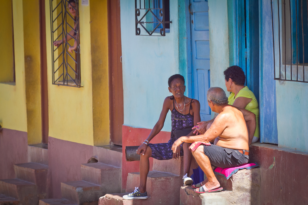 Hanging out, Trinidad, Cuba