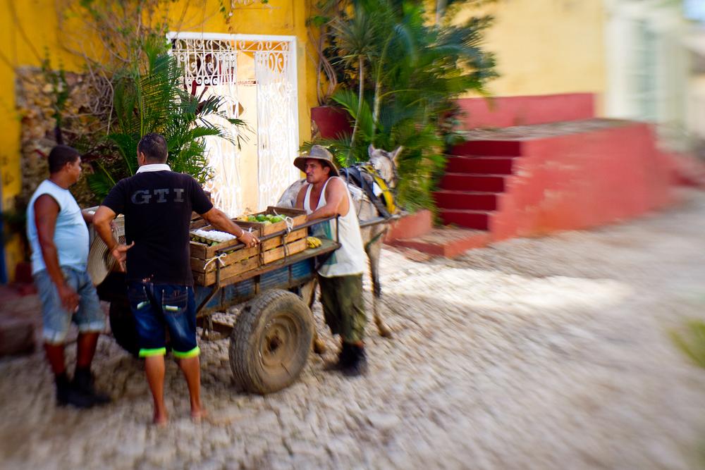 Vendors, Trinidad, Cuba