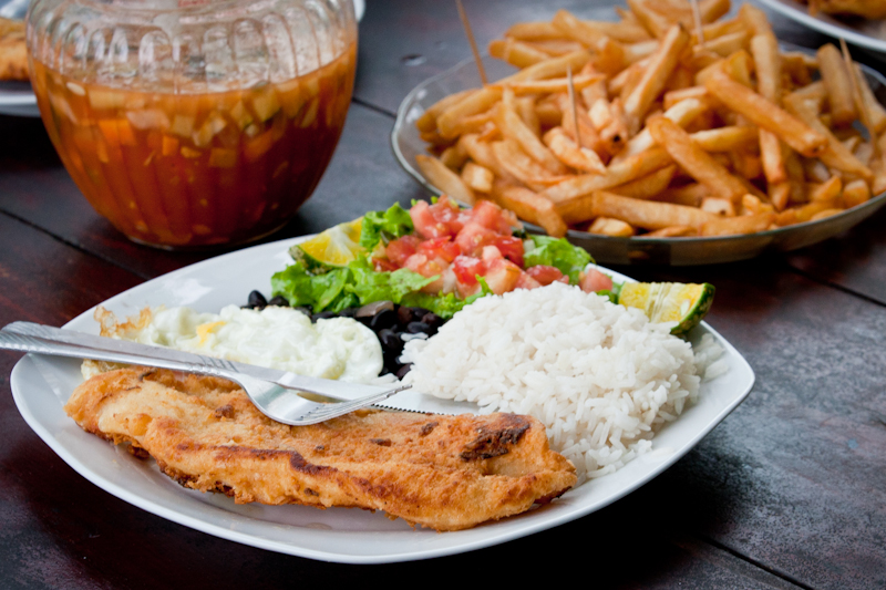 Lunch, Jungle Tarpon, Costa Rica