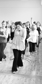Dancing at Bliss Studio in Pullman, Washington. 18 June 2011. Photo Courtesy of Danielle Eastman.