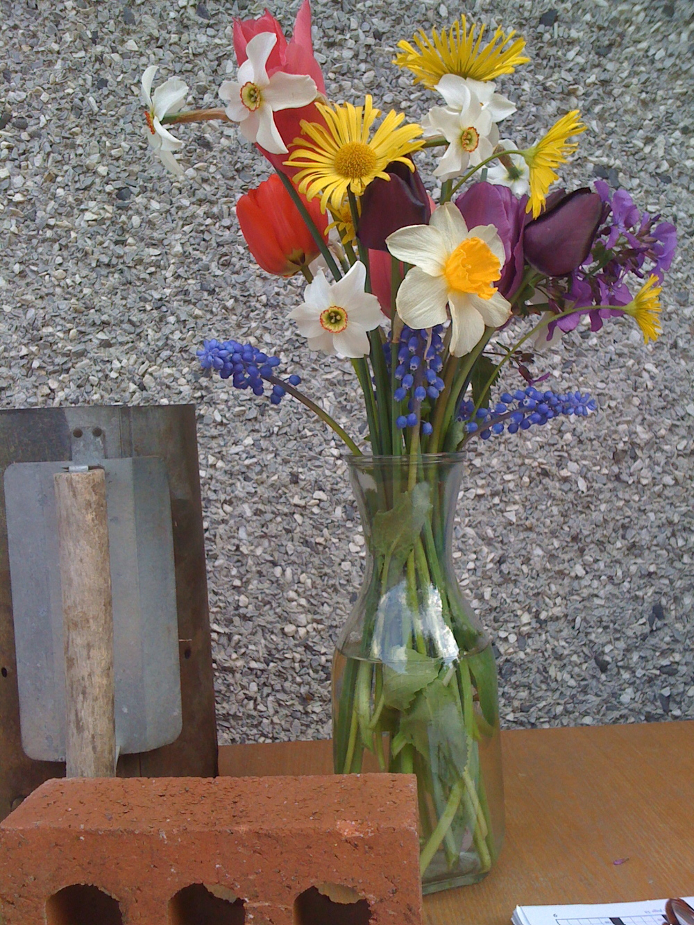 Hand-made Bouquet.  21 May 2011.