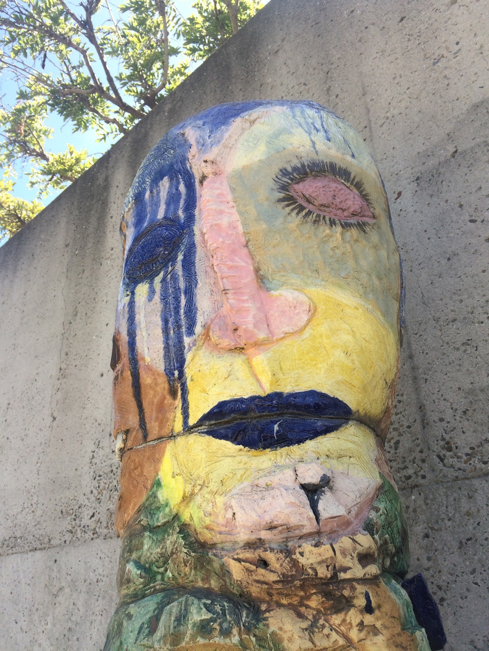 Oakland Museum of California. Sculpture garden. 21 August 2015.