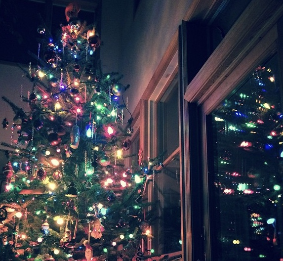 Christmas tree, full of joy and fun! December 2014.